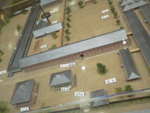 富岡製糸工場模型