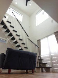 おしゃれなリビング階段