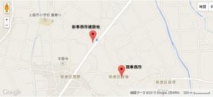 新旧事務所地図
