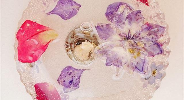 お花のキャンドル
