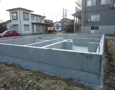鉄筋コンクリート造ベタ基礎